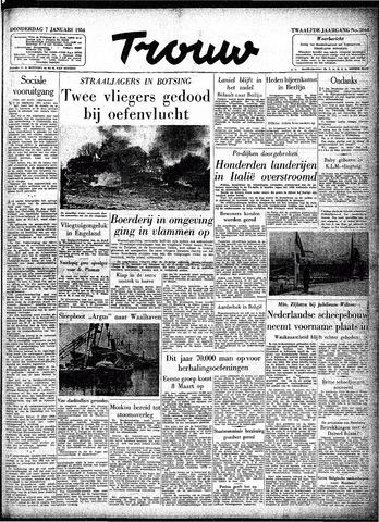 Trouw / De Rotterdammer 1954-01-07