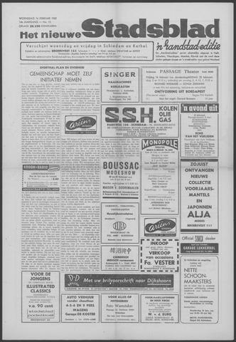 Het Nieuwe Stadsblad 1962-02-14