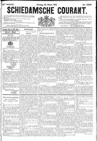 Schiedamsche Courant 1910-03-20