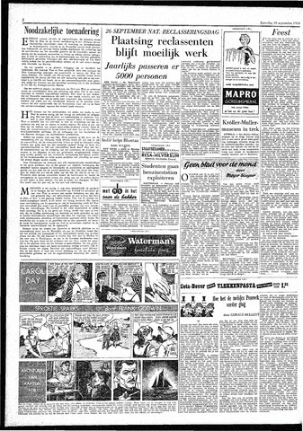 Rotterdamsch Parool / De Schiedammer 1959-09-19