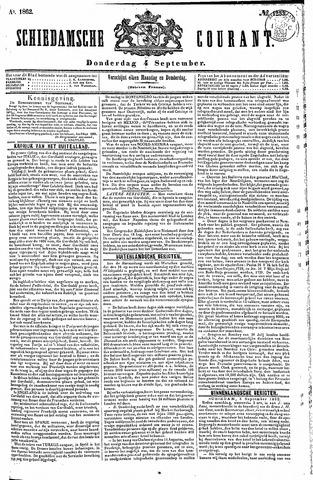 Schiedamsche Courant 1862-09-04