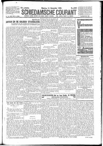 Schiedamsche Courant 1931-12-15