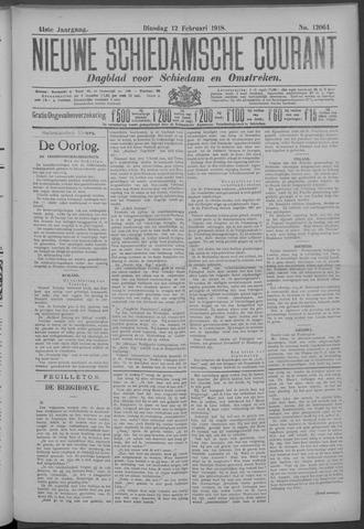 Nieuwe Schiedamsche Courant 1918-02-12