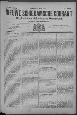 Nieuwe Schiedamsche Courant 1901-05-05