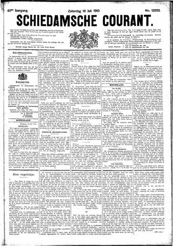 Schiedamsche Courant 1910-07-16