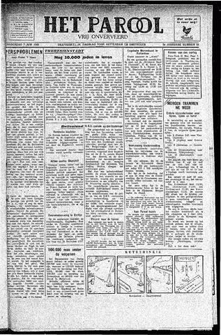 Rotterdamsch Parool / De Schiedammer 1945-06-07