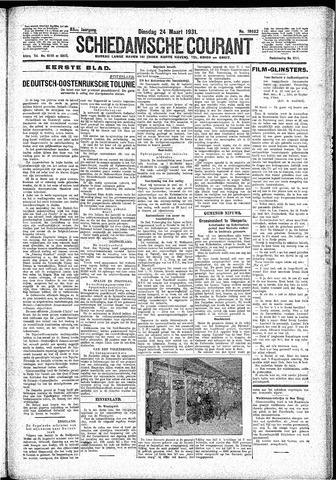 Schiedamsche Courant 1931-03-24