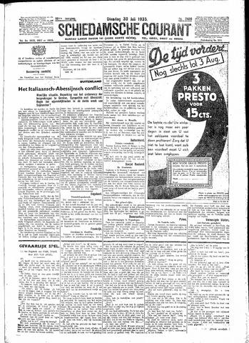 Schiedamsche Courant 1935-07-30