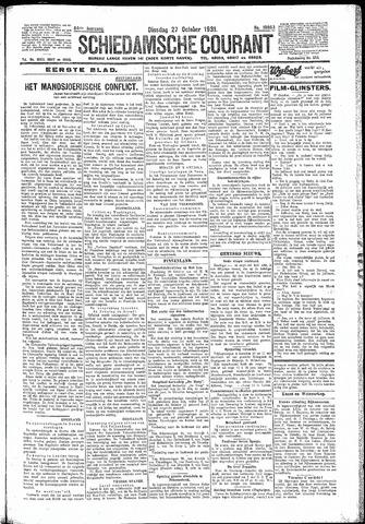 Schiedamsche Courant 1931-10-27