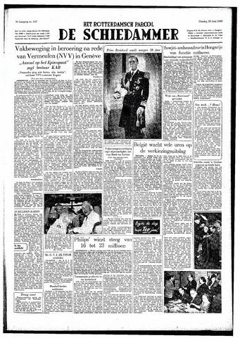 Rotterdamsch Parool / De Schiedammer 1949-06-28