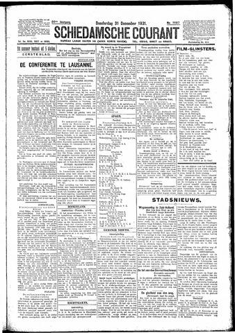 Schiedamsche Courant 1931-12-31