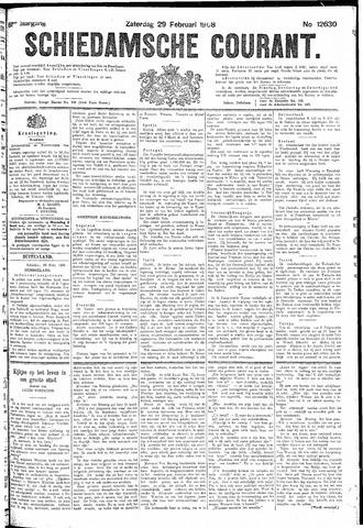 Schiedamsche Courant 1908-02-29
