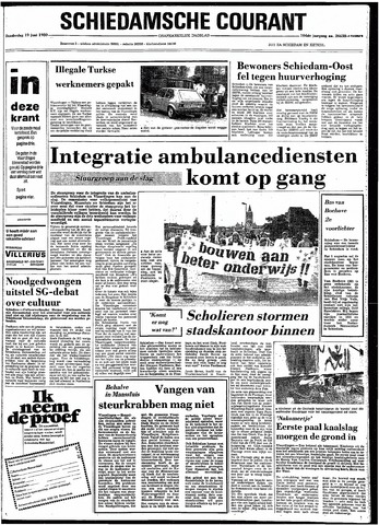 Rotterdamsch Nieuwsblad / Schiedamsche Courant / Rotterdams Dagblad / Waterweg / Algemeen Dagblad 1980-06-19
