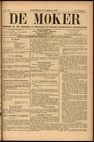 De Moker 1908-08-15