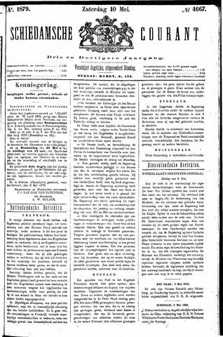 Schiedamsche Courant 1879-05-10
