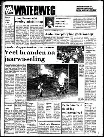 Rotterdamsch Nieuwsblad / Schiedamsche Courant / Rotterdams Dagblad / Waterweg / Algemeen Dagblad 1983-01-03