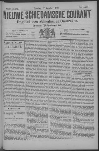 Nieuwe Schiedamsche Courant 1897-10-17