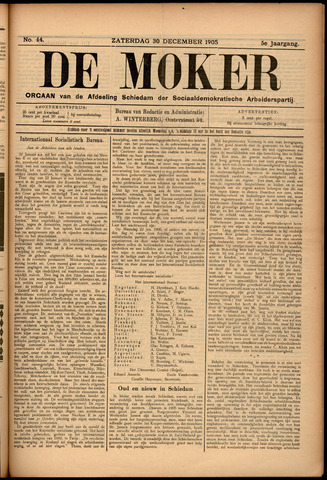 De Moker 1905-12-30