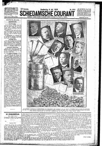 Schiedamsche Courant 1929-07-04