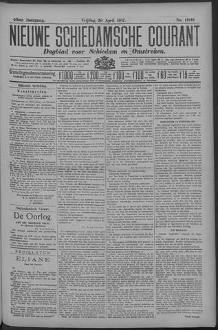Nieuwe Schiedamsche Courant 1917-04-20
