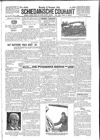 Schiedamsche Courant 1933-11-13