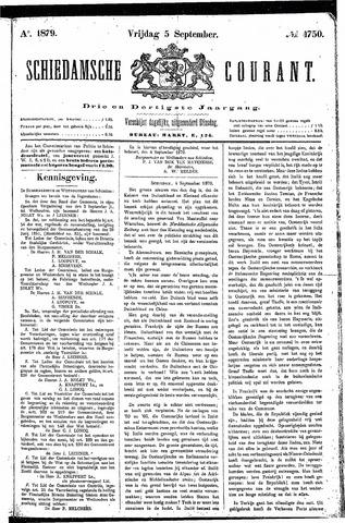 Schiedamsche Courant 1879-09-05