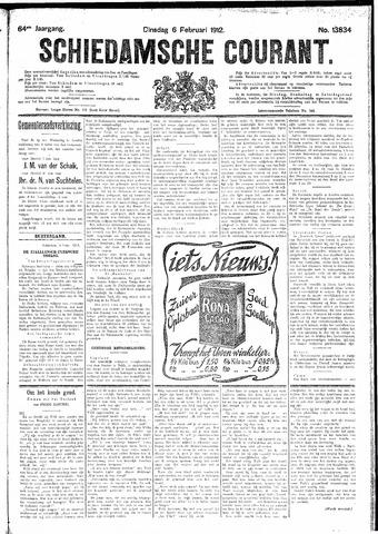 Schiedamsche Courant 1912-02-06