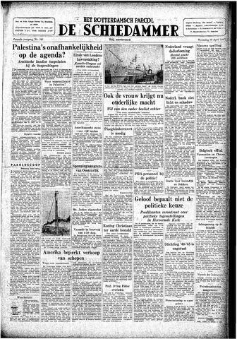 Rotterdamsch Parool / De Schiedammer 1947-04-30