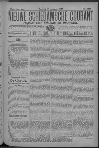 Nieuwe Schiedamsche Courant 1917-08-18