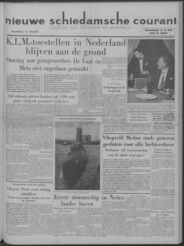 Nieuwe Schiedamsche Courant 1958-03-17