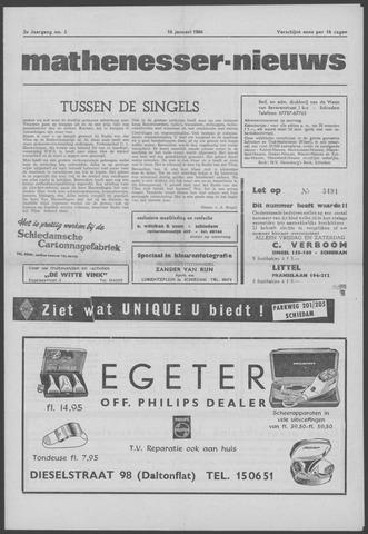 Mathenesser Nieuws 1964-01-16