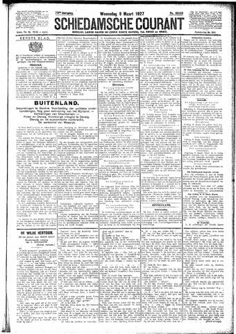 Schiedamsche Courant 1927-03-09