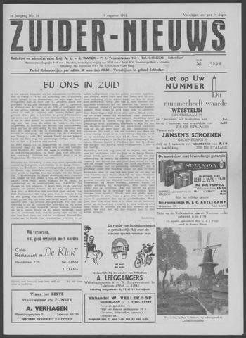 Zuider Nieuws 1962-08-09