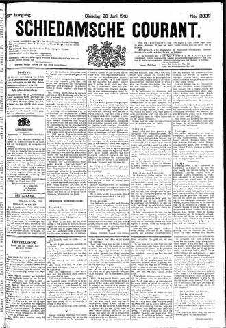 Schiedamsche Courant 1910-06-28
