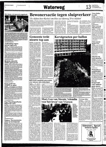 Rotterdamsch Nieuwsblad / Schiedamsche Courant / Rotterdams Dagblad / Waterweg / Algemeen Dagblad 1991-12-20