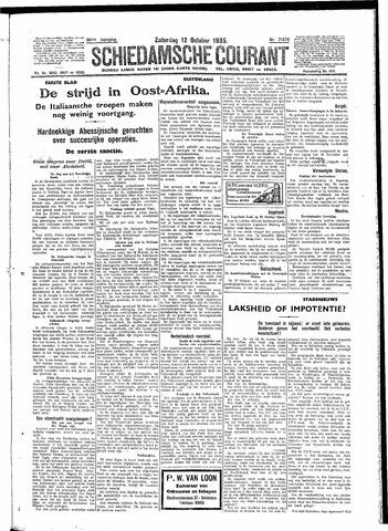 Schiedamsche Courant 1935-10-12