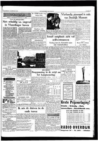 Rotterdamsch Nieuwsblad / Schiedamsche Courant / Rotterdams Dagblad / Waterweg / Algemeen Dagblad 1959-02-19