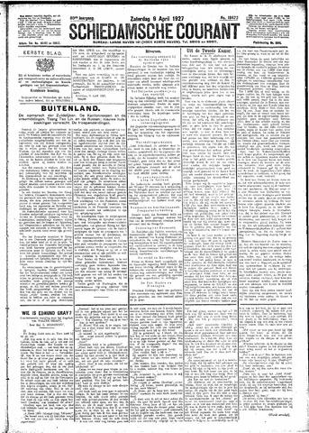 Schiedamsche Courant 1927-04-09