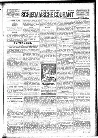 Schiedamsche Courant 1929-02-22