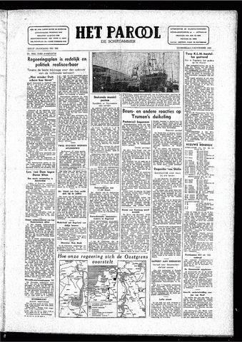 Rotterdamsch Parool / De Schiedammer 1946-11-07