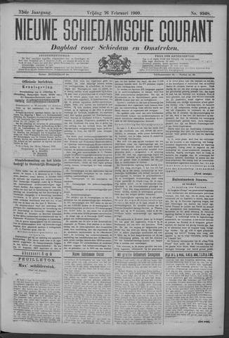 Nieuwe Schiedamsche Courant 1909-02-26