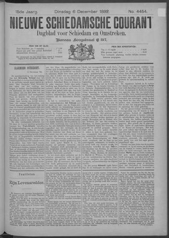 Nieuwe Schiedamsche Courant 1892-12-06