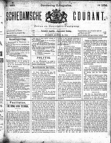 Schiedamsche Courant 1883-08-02