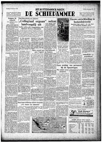 Rotterdamsch Parool / De Schiedammer 1948-01-13