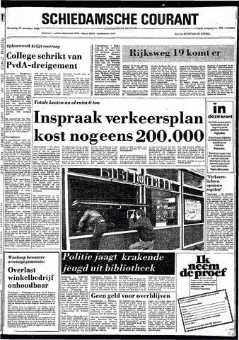 Rotterdamsch Nieuwsblad / Schiedamsche Courant / Rotterdams Dagblad / Waterweg / Algemeen Dagblad 1980-11-19