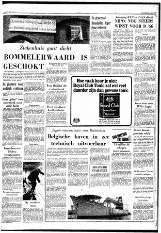 Trouw / De Rotterdammer 1969-05-08