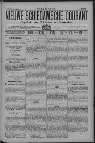 Nieuwe Schiedamsche Courant 1913-07-15