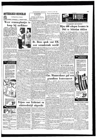 Rotterdamsch Nieuwsblad / Schiedamsche Courant / Rotterdams Dagblad / Waterweg / Algemeen Dagblad 1965-05-14