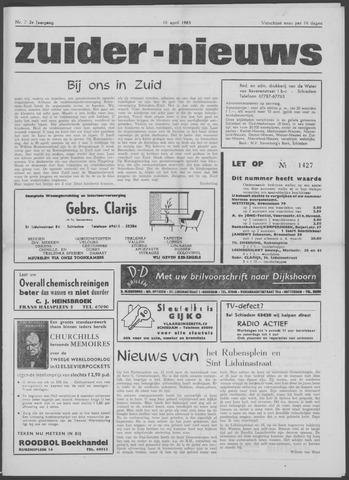 Zuider Nieuws 1963-04-18