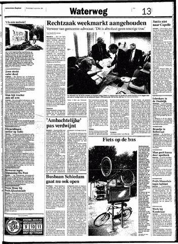 Rotterdamsch Nieuwsblad / Schiedamsche Courant / Rotterdams Dagblad / Waterweg / Algemeen Dagblad 1991-09-05